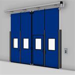 ASSA ABLOY FD2250P Folding Door (2+2) Electrical DLW 2600-5000mm, DLH 2000-6000mm