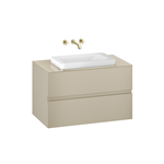 ARMANI - BAIA 1000 mm wall-hung furniture for over countertop washbasins and wall-mounted basin mixers