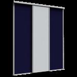 porte de placard coulissante premio (1 partition) 3 portes