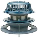 Z100 Dp 15 Quot Diameter Main Roof Drain Low Silhouette Dome