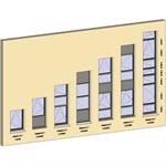 vertical strip windows - showcase