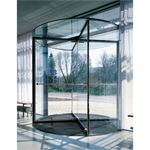 revolving door, ktv atrium a automatic wall-hosted