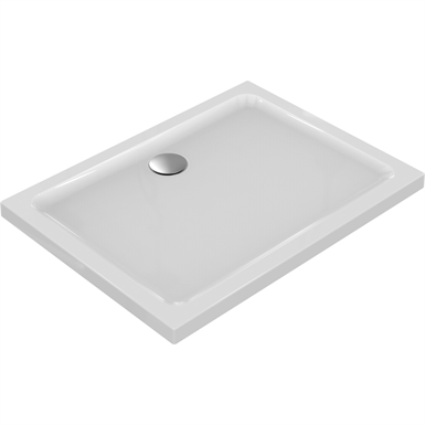 connect shower tray 120x90 white ig rct no patn