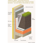 garden roofs and green roofs with a concrete structural member in a low-land climate - csfe - generic objects waterproofing