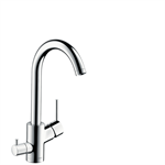 M524-H270 Single lever kitchen mixer with device shut-off valve 73866000