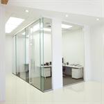 interior glass walls pure® series - slider-mounted_r14