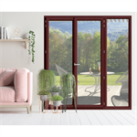 Double French door - IN'ALPHA 80 - PF2 - Z installation