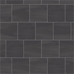 mosa solids - graphite black - wall tile surface