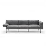 Varilounge Low 3-seater, sofa right