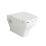 Street Square Wall hung WC pan 530x350 mm.