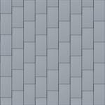 großraute dach (500 mm x 1000 mm, vertikal, prepatina blaugrau)