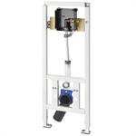 aquafix installation frame for barrier-free wall-mounted toilet bowls cmpx143