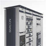SIVACON S8 LV switchboard - Single front busbar rear - Panel mounted frequency converter 110-560kW