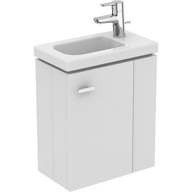 waschtisch-unterschrank 450 mm für handwaschbecken (ablage rechts)