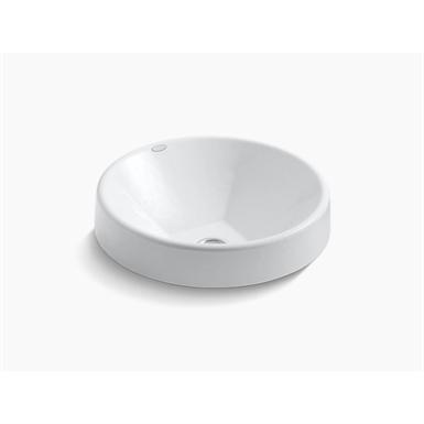 "inscribe® wading pool® 16.5"" round bathroom sink"