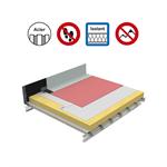 systèmes pour toitures inaccessibles autoprotégées avec isolation sur support parasteel tfh