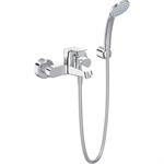 ceraflex - bath shower mixer exposed chrome & kit