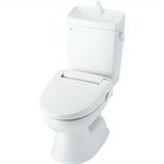 HBC-110STU/LR8 + DT-5800NBL/LR8 一般洋風便器(BL認定品) ECO6 ハイパーキラミック床排水 寒冷地用(水抜併用方式) 手洗付 便座なし ピンク