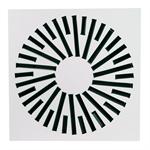 Swirl diffuser for modular ceilling _DRPL