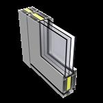 LK78X door, outward opening