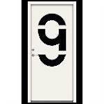 Exterior Door Character Identity (Inswing) Nr 9