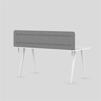 MUSE DESK LOW acoustic table mounted