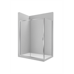 VICTORIA L2-E 1000 - Front shower enclosure with 1 sliding door + 1 fixed panel