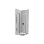 VICTORIA L2 - Lateral shower enclosure with 1 sliding door + 1 fixed panel