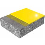 glänzender, fließfähiger, polyurethanvergüteter bodenbelag mit sikafloor® purcem® hs-21 gloss