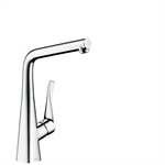 M713-H320 Single lever kitchen mixer for installation in front of a window 73814000
