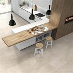 Collection Brancato colour Beige Floor Tiles