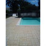 béton imprimé - stamped concrete - chryso®duraprint - casablanca