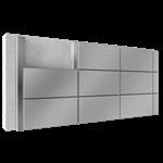overcladding with steel or aluminium cassettes