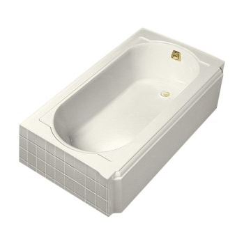 k-724-g0 memoirs® 5' bubblemassage™ baths with right-hand drain and white airjet color finish