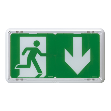 Self-contained emergency lighting autotest-addressable-connected luminaire