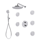 MyRing - 3 outlets built-in single-lever shower mixer