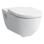 LAUFEN PRO LIBERTY Wall-hung WC 'liberty', washdown, without flushing rim, barrier-free