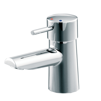 cone basin mixer 1 hole single lever no waste