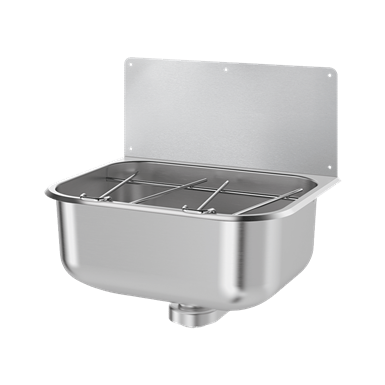182400  wall-mounted cleaners' sink