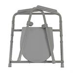 Drive Medical 11148-1 Steel Folding Bedside Commode