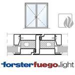 door forster fuego light ei30, double leaf