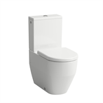 LAUFEN PRO Floorstanding WC close-coupled, washdown, rimless, outlet horizontal or vertical
