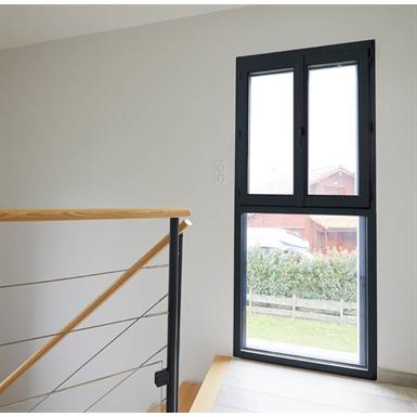 fenêtre 2 vantaux sur allège pvc
