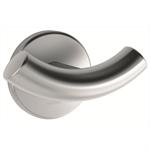 4042s satin stainless steel double coat hook