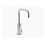 gooseneck touchless faucet with insight™ technology, hybrid-powered