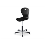 Chair Karoline gas Alu large sh 50-70 cm with sliding foot