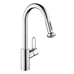 Talis Single lever kitchen mixer 220 Loop with pull-out spray 04702005