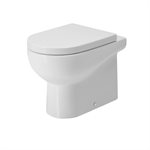 Nuvola  floor standing Wc with adjustable flush system.