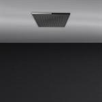 ACCIAIO - 假天花板350x350毫米花洒系统,具有淋雨功能。要配装饰盖。  - 57801