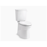 irvine™ comfort height® two-piece elongated 1.28 gpf chair height toilet with right-hand trip lever